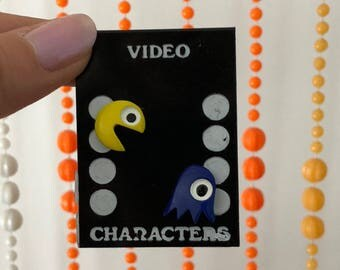 Vintage Deadstock 'Pac Man' Pins