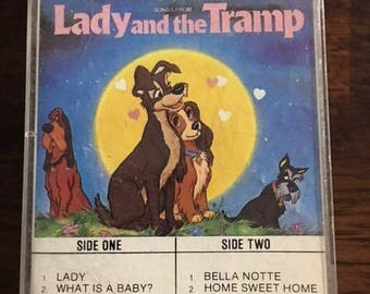 Lady And The Tramp Cassette Tape Disney
