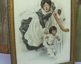 Antique 1908 Cream of Wheat Is Ready Advertising Print by James MONTGOMERY FLAGG