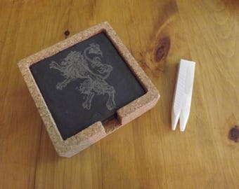 Game Of Thrones Slate Coasters Set of 4