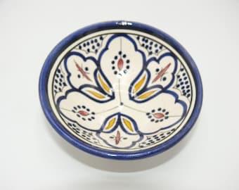 Oriental ceramic dish bowl bowls for dip and olives Ø 12 CM model Sakina