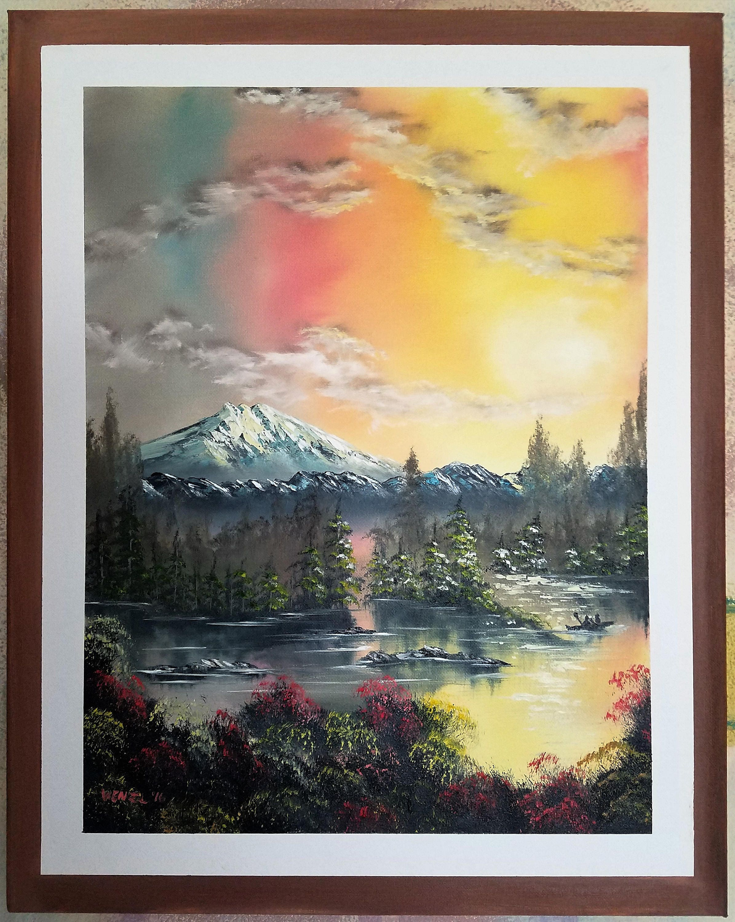 Wall Painting Landscape -  zoom