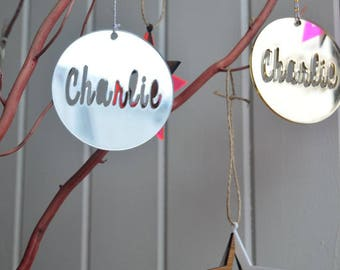 Personalised Christmas bauble / ornament