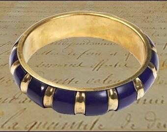 Bracelet vintage, brass Bangle