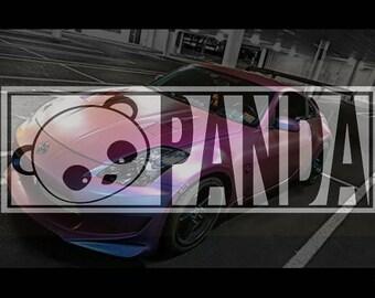 Panda Faux Slap