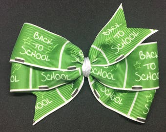 """5.5"""" Back to School Hairbow"""