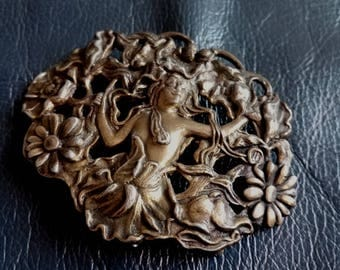 VINTAGE BELT BUCKLE, Vintage Women's Belt Buckle, Belt Buckle, Women's belt Buckle