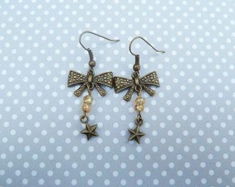 Pair of earring node for yellow