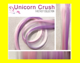 "UNICORN RUSH 18"" Clip-In Hair Extension Set - 4 PIECES!"