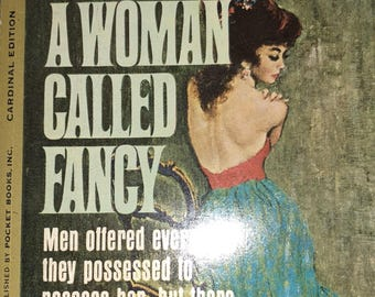 Frank Yerby A Woman Called Fancy paperback pulp fiction book romance