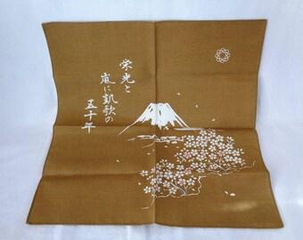 EJP15 : Vintage Japanese Furoshiki cloth