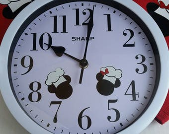 Inspired by Disney and Chef Mickey! Kitchen Wall Clock-Disney decor