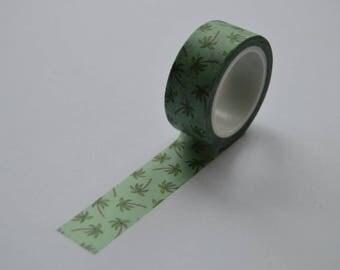 SALE**Palm tree washi tape