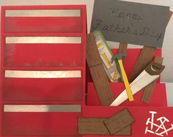 Tool Box  Father's Day Card