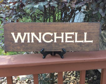 Last Name Sign | Wedding Gift | Custom Rustic Wood Sign | Personalized Sign | Handcrafted Wood Sign | Engraved Sign | Custom Made Sign