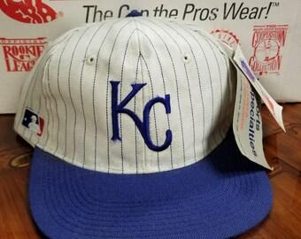 New vintage Kansas city royals sports specialties snapback hat youngan hat deadstock 90s