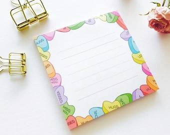 Sugar Heart Memo pad