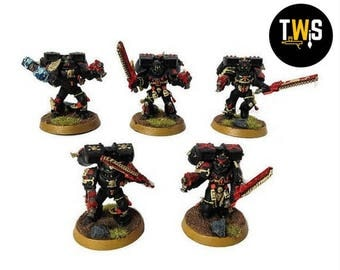 Warhammer 40k, Blood Angels, Death Company, Commissioned Painting Services