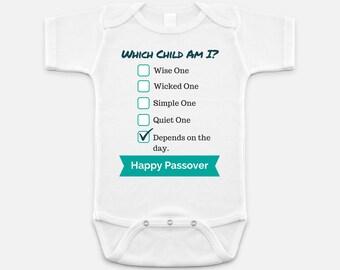 Passover Baby Onesie Funny Gift