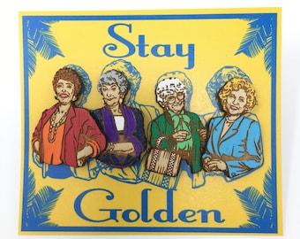 Golden Girls Stay Golden Pin Set