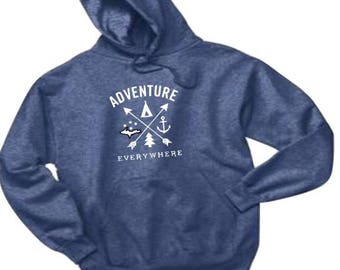 Adventure hoodie, Michigan hoodie, michigan adventure, michigan outdoors, UP sweatshirt, UP hoodie, outdoor hoodie, nature hoodie, yoopers