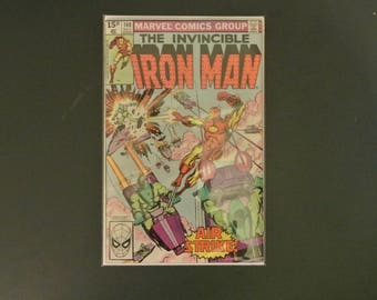 Iron Man #140 Air Strike, 1980 Bronze Age Marvel Comics