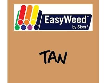 Siser EasyWeed Heat Transfer Vinyl - HTV - Tan