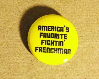 Lafayette Hamilton 1 inch handmade pinback button