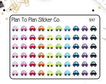 1247~~Cars Planner Stickers.