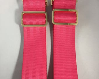 """Custom Backpack Straps Set Various Colors and Hardware Choices 2""""x38"""""""