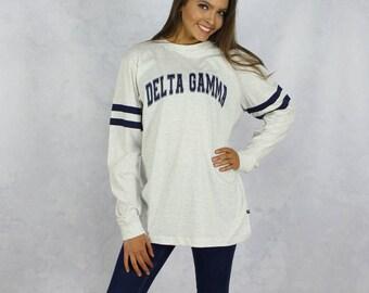 Delta Gamma Long Sleeve Jersey T-Shirt