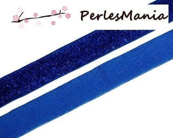 1 meter Ribbon Terylene style electric blue sequin S1163975 DIY 20mm