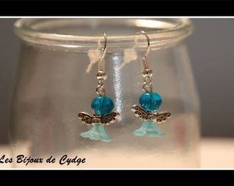 Earring and mini turquoise Angel
