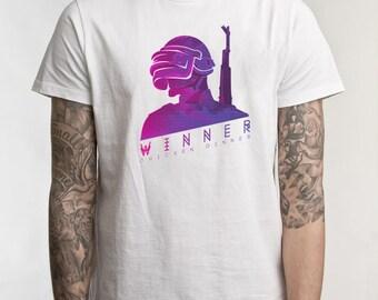 Playerunknowns Battlegrounds - Original T-shirt Design - Retro