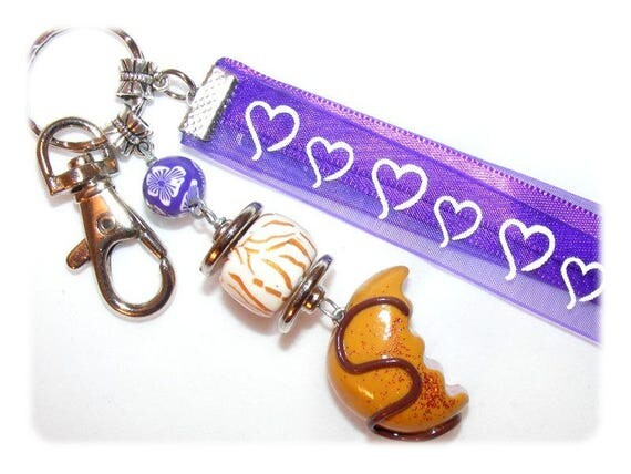 Jewelry bag or Keychain LoveCake ஜ