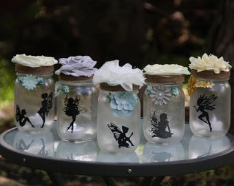 Fairy Jars - Small                                          Pint Mason Jars (16oz)