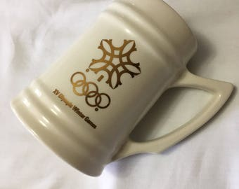 Calgary Olympics Beer Mug 1988