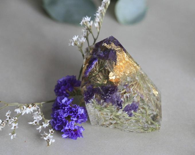 Irish Flower Paperweights | Crystal Paperweight | Botanical | Display | Flowers