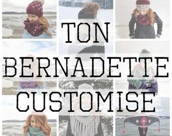 YOUR CUSTOMIZED BERNADETTE