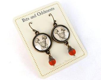 Siamese Twin Earrings