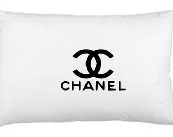 Chanel inspired standard pillow