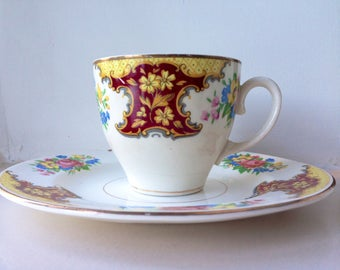 Sale: Vintage Washington Pottery Cup and Saucer