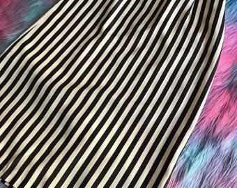 80s Striped Skirt