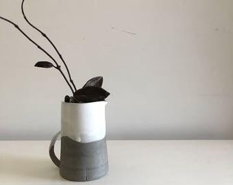 ceramic Carafe, Lemonade pitcher, Decanter, minimalist, Water Jug, pottery Jug