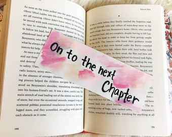 On to the Next Chapter // Bookmark