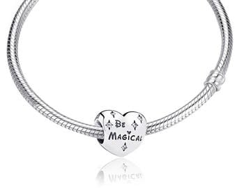 Pandora Be Magical Disney Heart Charm S925 Sterling Silver