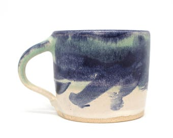Cup 159&160, Contemporary abstract style, Handmade pottery