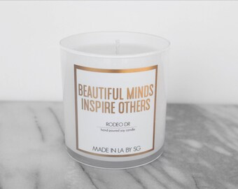 Made in LA by SG - Rodeo Dr - Soy Candle - Vanilla - Gift