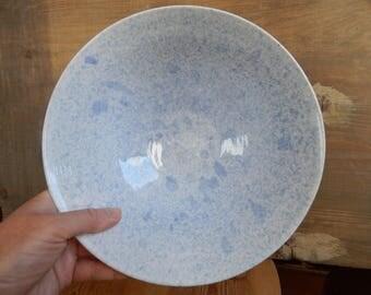 Scandinavian Vintage Big Krukmakeri Argilla Bowl Blue white Keramik Bowl Handmade Ceramic Bowl