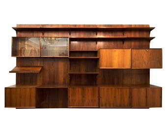 Rosewood Shelving System by Poul Cadovius
